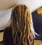 fjern dreadlocks